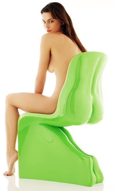 This chair was 1st display at Milan design week 09 exhabition 'the flower of ...